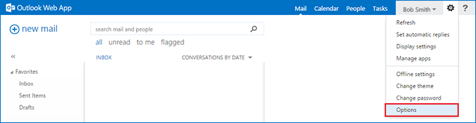 how to disable the Outlook Exchange spam filter step 3