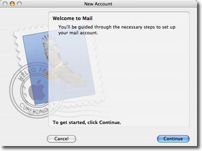 mac os mail setup step 2