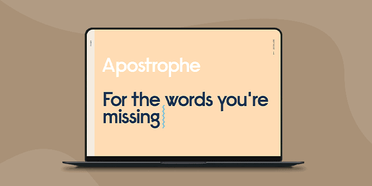 Learn from Apostrophe.xyz: 5 Ways to Make Your Website Standout